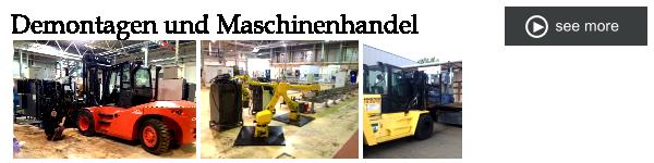 Demontagen Maschinenhandel Herrles