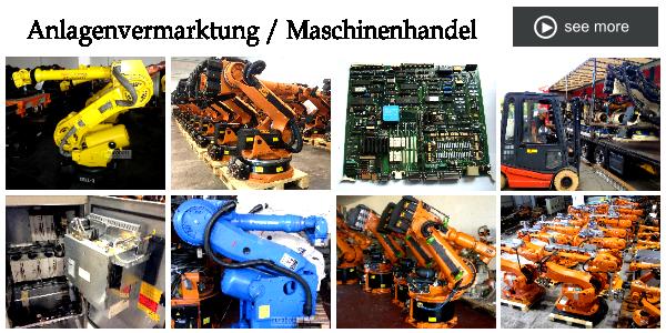 Anlagenvermarktung / Maschinenhandel